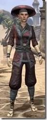 Honor Guard Ancestor Silk - Female Shirt Front