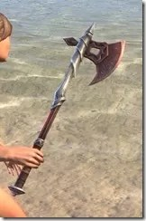 Honor Guard Rubedite Axe 2