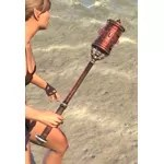 Honor Guard Rubedite Mace