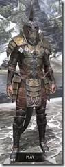 Imperial Dwarven - Argonian Male Front