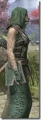 Imperial Homespun - Khajiit Female Robe Close Side