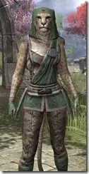 Imperial Homespun - Khajiit Female Shirt Close Front