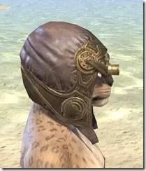 Imperial Mananaut Cap & Goggles - Khajiit Female Right