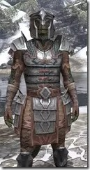 Imperial Steel - Argonian Male Close Front