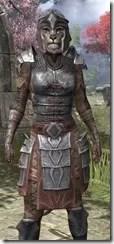 Imperial Steel - Khajiit Female Close Front