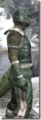 Khajiit Homespun - Argonian Male Shirt Close Side