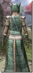 Khajiit Homespun - Khajiit Female Robe Close Rear