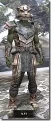 Khajiit Iron - Argonian Male Front