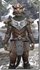 Khajiit Steel - Argonian Male Close Front