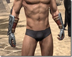 Lyris Titanborn's Gauntlets - Male Front