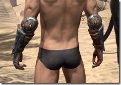 Lyris Titanborn's Gauntlets - Male Rear