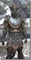 Malacath Iron - Argonian Male Close Front