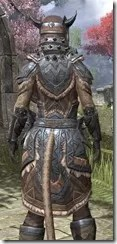 Malacath Iron - Khajiit Female Close Rear