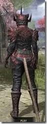 Meridian Heavy - Khajiit Female Rear
