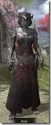 Meridian Light - Khajiit Female Robe Front