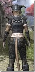 Nord Iron - Khajiit Female Close Rear