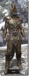 Orc Dwarven - Argonian Male Front