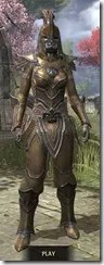 Orc Dwarven - Khajiit Female Front
