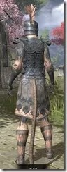 Order of the Hour Iron - Khajiit Female Rear