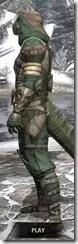 Outlaw Homespun - Argonian Male Robe Side