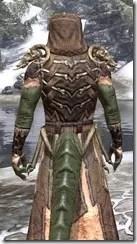 Primal Homespun - Argonian Male Robe Close Rear
