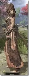 Primal Homespun - Khajiit Female Robe Side