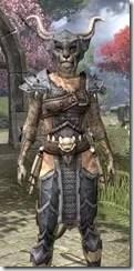 Primal Iron - Khajiit Female Close Front