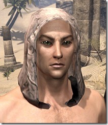 Prophet's Hood - Male Front