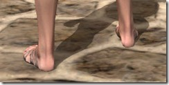 Prophet's Sandals - Female Rear