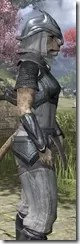 Redguard Iron - Khajiit Female Close Side