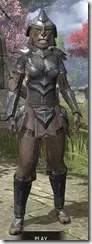 Redguard Steel - Khajiit Female Front