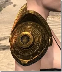Stonekeeper Pauldrons - Female Right