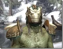 Symphony of Blades - Argonian Male Front