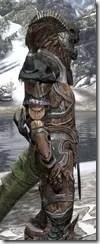 Wood Elf Dwarven - Argonian Male Close Side