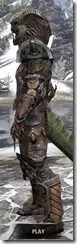 Wood Elf Dwarven - Argonian Male Side