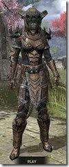 Wood Elf Dwarven - Khajiit Female Front