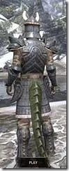 Yokudan Iron - Argonian Male Rear