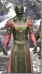 Bardic Tavern Singer's Dress Argonian Male Close Front