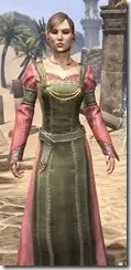 Bardic Tavern Singer's Dress Female Close Front