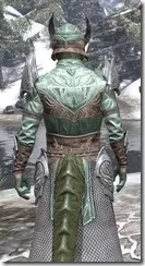 Divine Prosecution Light - Argonian Male Robe Close Rear