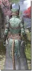 Divine Prosecution Light - Khajiit Female Robe Close Rear