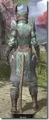 Divine Prosecution Light - Khajiit Female Shirt Rear