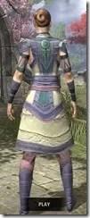 Treethane's Mosaic Jerkin Dyed Rear