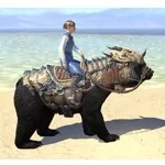 Dragonscale Barded Bear