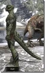 Dwarven Centurion Body Tattoos Argonian Male Side