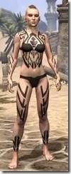 Dwarven Centurion Body Tattoos Female Front