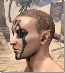 Dwarven Centurion Face Tattoos Male Side