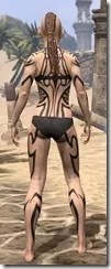 Meridian Radiance Body Tattoos Female Rear