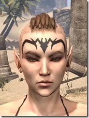 Meridian Radiance Face Tattoos Female Front