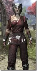 Jode & Jone Medium - Khajiit Female Close Front